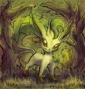 SQ-Leafeon by WindieDragon