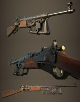 Dieselpunk leverlock carbine by Darkki1