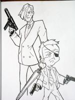 Pete White and Billy Quiz Boy by writerman34