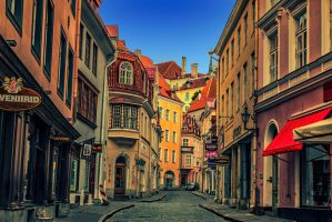 Old Town by Grymstiff