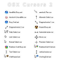 OS X White Cursors by Edercoree