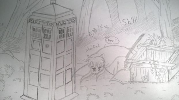 inuyasha meets doctor who by FLASHER12