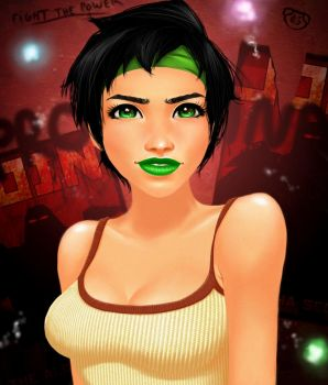 Beyond Good and Evil - Jade by Diamond4444