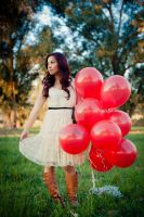 Red Balloons by psychotic-cheshire