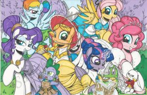 EQLA exclusive print by PonyGoddess