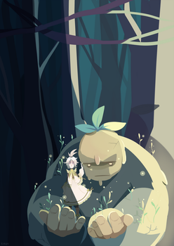 Nove in the forest by Kialun