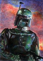 ESB SC: Boba Fett on Bespin by RobD4E