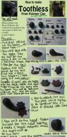 HTTYD Toothless Clay Tutorial by LightningMcTurner