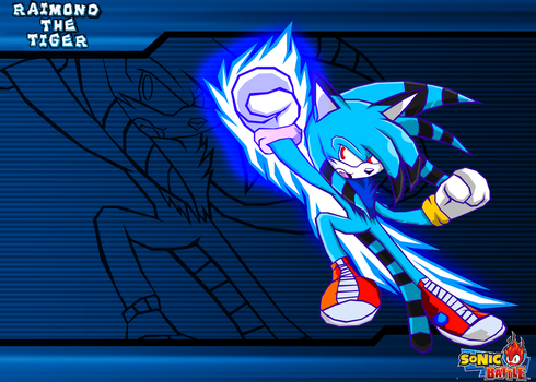 :COMM: Raimond - Sonic Battle by Cerberean