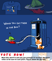 Woot Shirt - Green Eggs And Who by fablefire