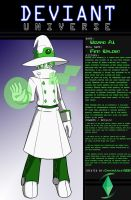 Deviant Universe - Wizard A.I. by CrystalViolet500