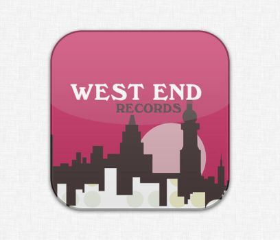 West End Records - Flurry style by mamohida