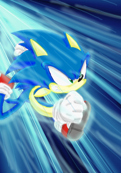 super sonic speed by dashiepie