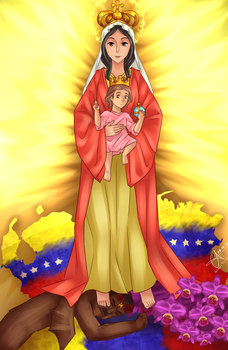 Our Lady of Coromoto by Christus-Imperat