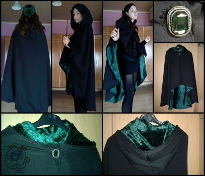 Slytherin inspired by TesseractGlow