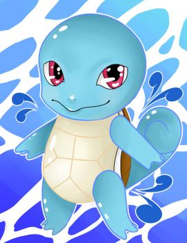 Squirtle by Snafufun