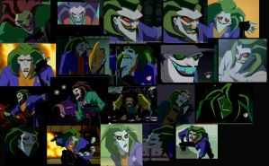 The Batman Joker expressions reference 1 by arcanineryu