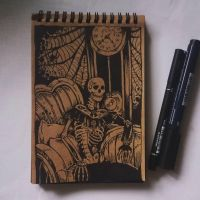 Instaart - Old clock by Candra