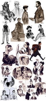 that's a sketchdump II by Phobs