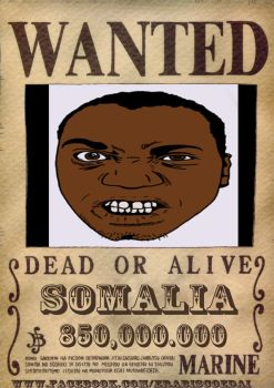 Somalia Wanted by rafaelfaria