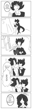 Human Bendy and the ink machine -part 1- by MoonlightMandy