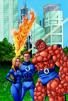 The Fantastic Four by ChawliePawpit