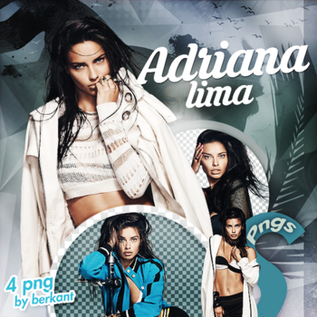 Adriana Lima Png Pack #12 by Fenty34000