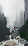 The misty river by lauraacan