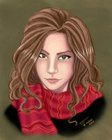 Hermione Granger Colorr by duendefranco