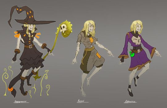 Narcy Costume Concepts by C-Hazard