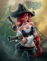 League of Legends - Miss Fortune by madmagnus