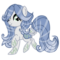 |CLOSED| Bamboo Themed HoloCoffee Pony by Angel-Coffee