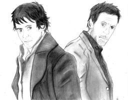 Holmes and House by rwrocks74