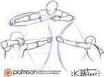 Archery reference sheet by Kibbitzer