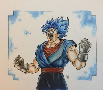 Vegito Blue by ringwrm