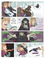 SCORCHED (Frozen graphic novel) Page 2 by RemainUndefined
