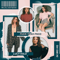 Pack Png: Lucy Hale #424 by MockingjayResources