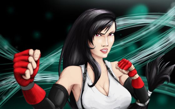 Yet another Tifa by Rajaswami