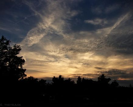 Nightfall Over Twinsburg - 1 by JeepFanatic