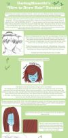 Tutorial - How To Draw Hair 2 by DarlingMionette