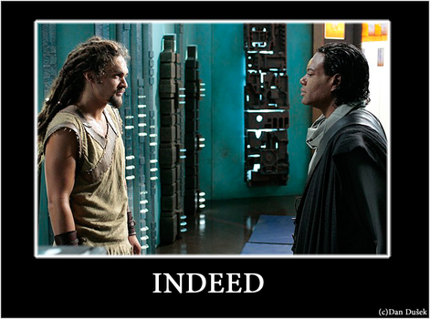 Ronon and Tealc: Indeed by dusekdan