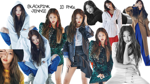 BLACKPINK PNG Pack Jennie {Dazed and Confused} HQ by soshistars