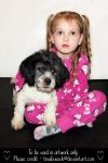 Girl with puppy (1) by TinaLouiseUk