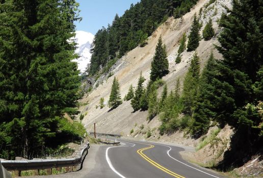 Route 12 To Mt Rainier Washington by Speck2