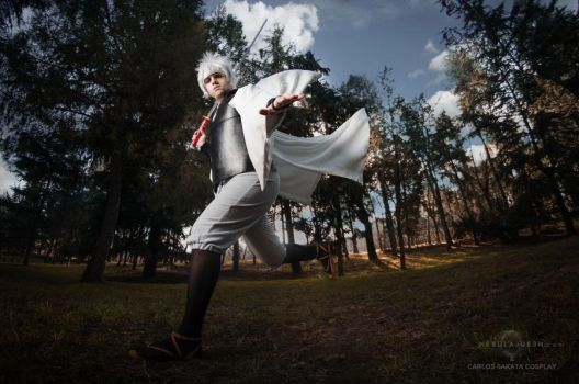 Why not live beautifully until the end? - Gintama by Carlos-Sakata