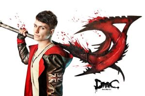 Dante with Arbiter 2 - DmC cosplay by LuckyStrikeCosplay