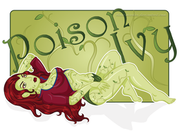 Pinup Poison Ivy by Claw-Markes