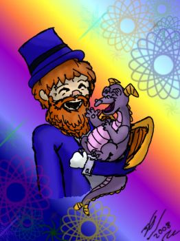 Dreamfinder + Figment by JediGal