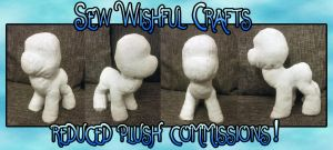 REDUCED PLUSH COMMISSION OPPORTUNITY!! by fishiewishes