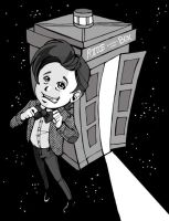 11th Doctor by awabubbles
